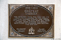 Chateau Laurier Sign